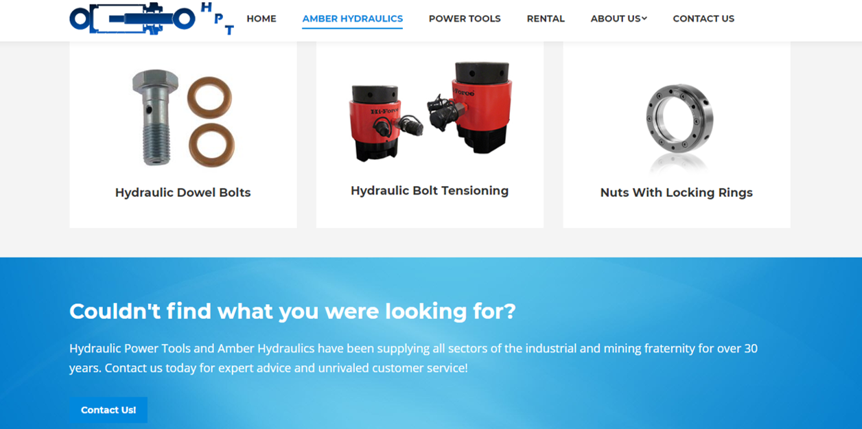 Jacked Digital Hydraulic Power Tools Products