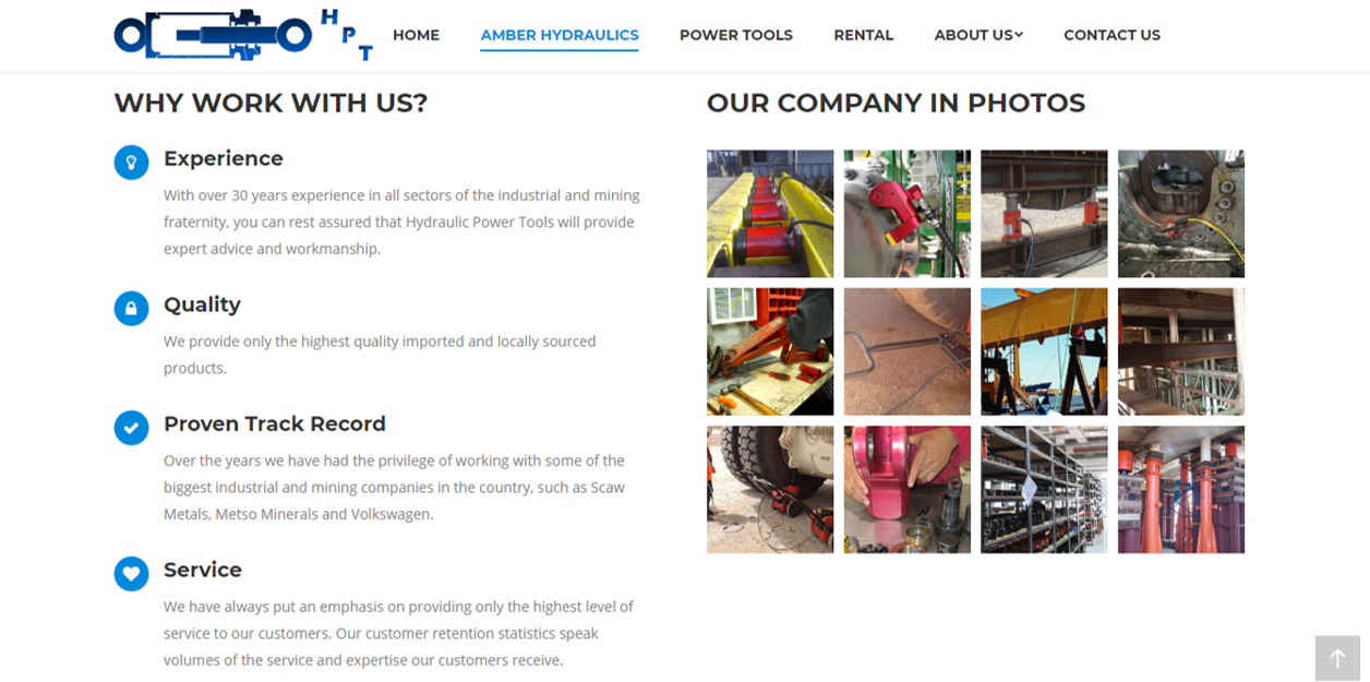 Jacked Digital Hydraulic Power Tools Services
